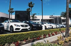 Mercedes Benz Car dealership