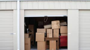 Does homeowners insurance cover items in storage?