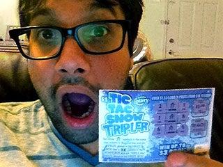 Dan and winning lottery ticket