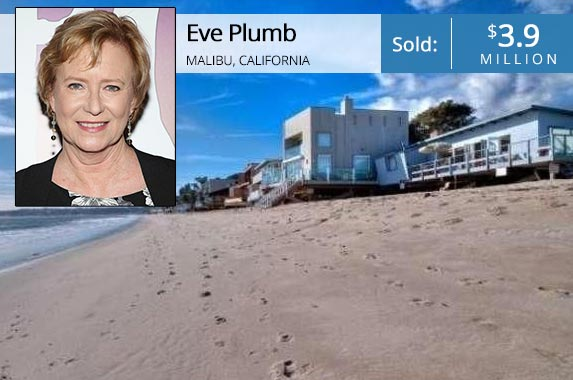Eve Plumb: Sylvain Gaboury/Getty Images; House: Realtor.com