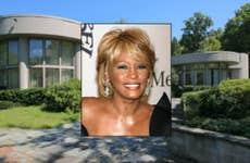 Whitney Houston House for Sale | House: © Realtor.com | Whitney Houston © s_bukley Shutterstock.com