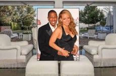 Celebrity house for sale: Mariah Carey Nick Cannon © Realtor.com | s_buckley/Shutterstock.com