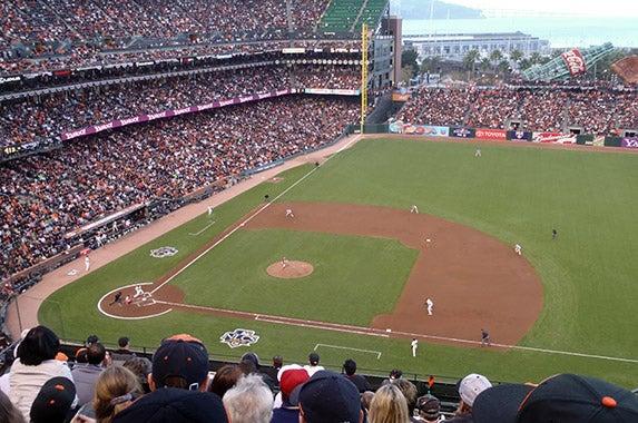 AT&T Park (San Francisco Giants) © Christopher Penler/Shutterstock.com