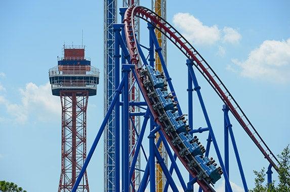 No. 9: Six Flags Over Texas (Arlington, Texas)   Photo courtesy of Six Flags Over Texas