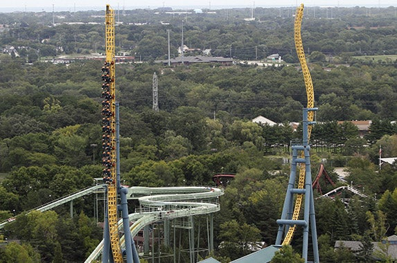 No. 8: Six Flags Great America (Gurnee, Illinois)   Photo courtesy of Six Flags Great America