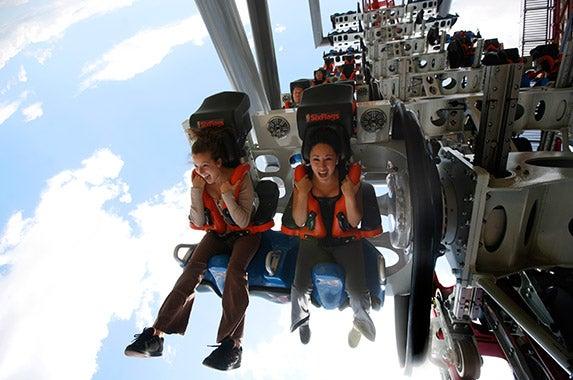 No. 2: Six Flags Magic Mountain (Valencia, California)   Photo courtesy of Six Flags Magic Mountain