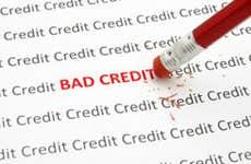 Erase bad credit © iStock