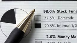 Asset allocation for fund investors