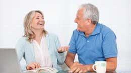Marriage vs. living together after 60