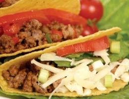 Try a taco or carnita bar
