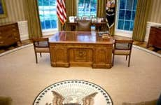 Empty Oval Office   Pool/Getty Images