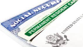 Survivors benefits for green card holder
