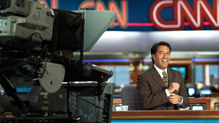 CNN news anchor | Steve Raymer/Getty Images
