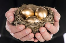 Golden eggs © Dan Kosmayer/Shutterstock.com