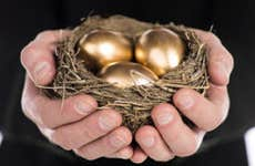 Golden eggs © Dan Kosmayer/Shutterstock.com