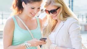 Use a smartphone money transfer app?