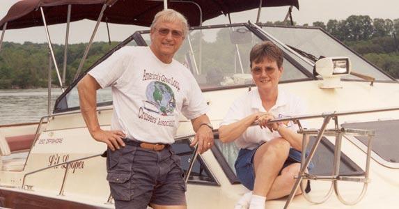 Ron and Eva Stob | Photo courtesy of Ron and Eva Stob