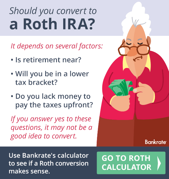 Should you convert to a Roth IRA? © Bigstock