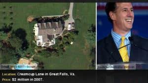 Rick Santorum's home