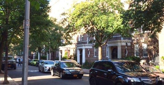 Neighborhood in New York City | Photo courtesy of Eric Rivera