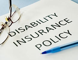 6. Protect your income with long-term disability insurance. © Protect your income with long-term disability insurance./Shutterstock.com