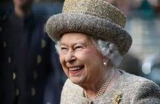 Queen Elizabeth II in London