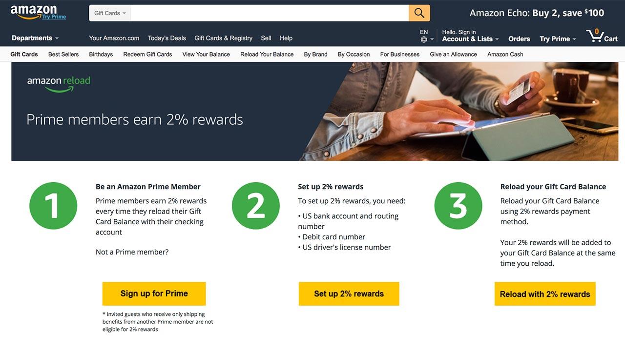 Amazon rewards debit card users, too