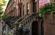 father and son brownstone in Brooklyn