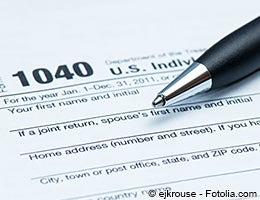 Federal income tax breakdown