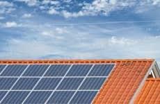 Solar panels on roof © iStock