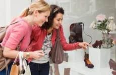 Two women shoe shopping   Betsie Van Der Meer/Getty Images