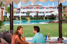 couple at a timeshare
