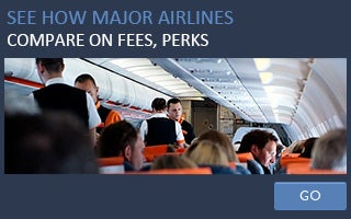 See how major airlines compare on fees, perks © pcruciatti/Shutterstock.com