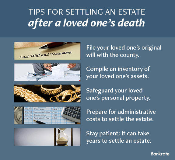 Tips for settling an estate after a loved one's death © iStock; Fotolia.com