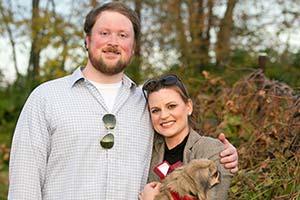 Walt Arnett and his fiancée Beth | Walt Arnett