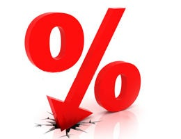 Interest rate goes down