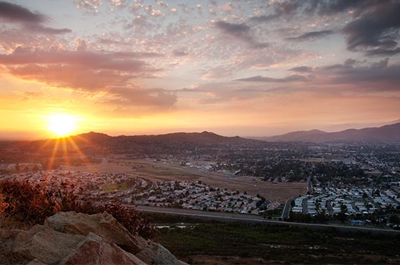 Riverside, California | Eric Lowenbach/Getty Images