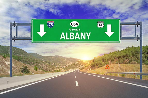 Albany, Georgia | Bennian/Getty Images