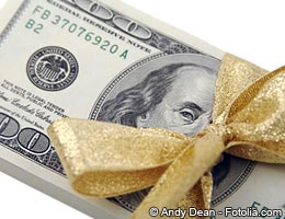 Consider the money a gift and repayment a bonus