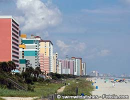 Coastal cities in South Carolina