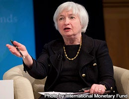 Janet Yellen © Photo by International Monetary Fund