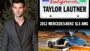 Celebrities and their rides: Taylor Lautner