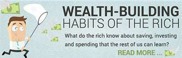 Wealth building habits of the rich