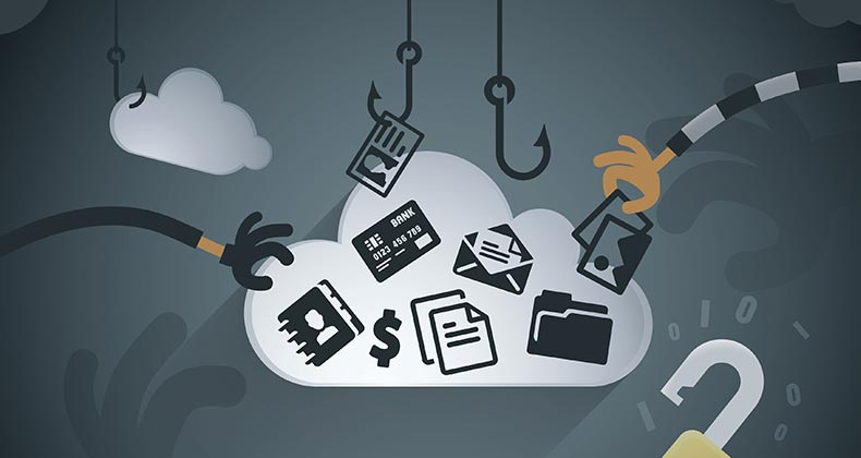 Cloud data theft   youngID/DigitalVision Vectors/Getty Images