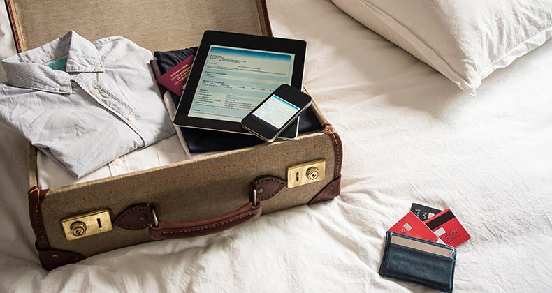 Packing suitcase for a trip   David Cleveland/Getty Images