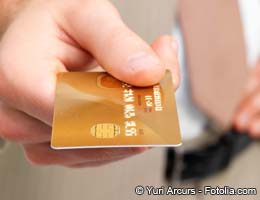 A simple credit card trick