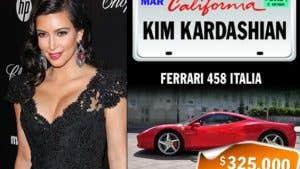 Celebrities and their rides: Kim Kardashian
