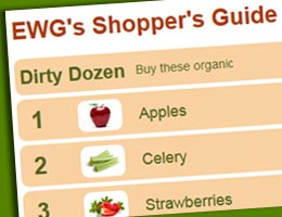 Use the EWG Shopper's Guide