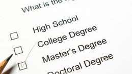 Master's degree or graduate certificate?