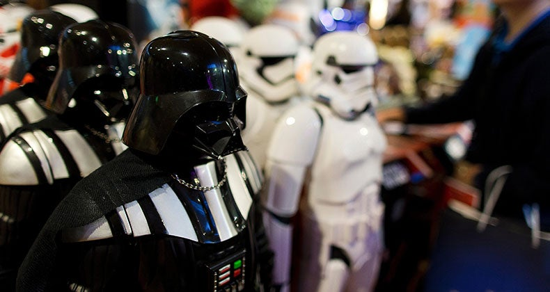 Star Wars toys on display   KENZO TRIBOUILLARD/AFP/Getty Images